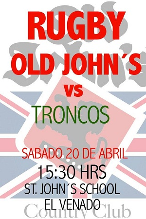 flyer old johns vs troncos