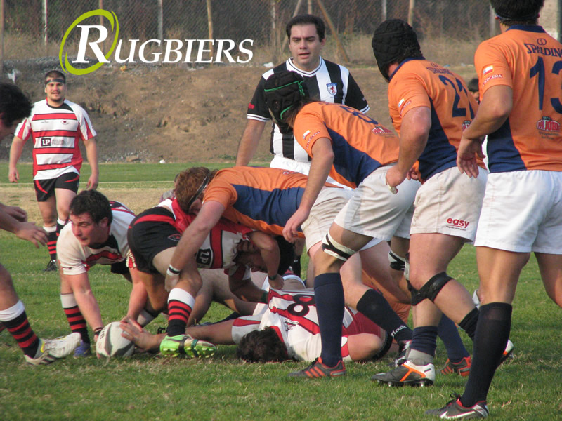 Apertura 2013 Old Georgians vs Old Reds 2