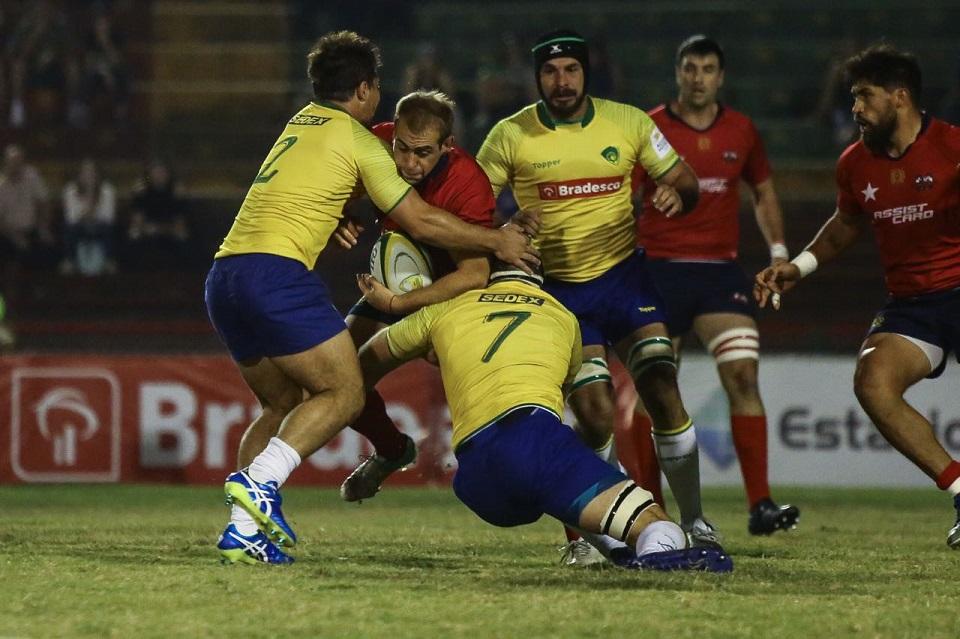 Sudamericano 2018 – Brasil 28-12 Chile 6